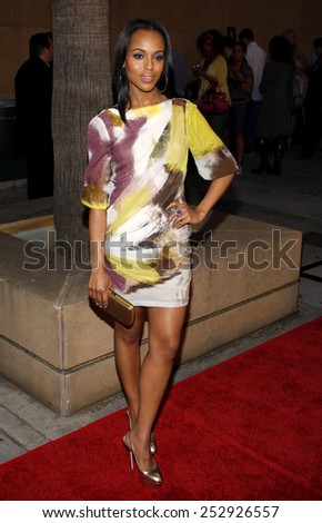 """Kerry Washington at the Los Angeles Premiere of """"Mother and Child"""" held at the Egyptian Theater in Hollywood, California, United States on April 19, 2010.  - stock photo"""