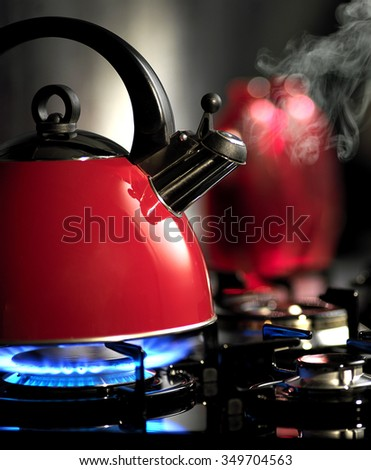 kettle - stock photo