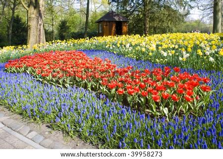 Keukenhof Gardens, Lisse, Netherlands - stock photo