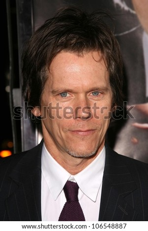 Kevin Bacon at the Los Angeles Premiere of 'Frost-Nixon'. Samuel Goldwyn Theater, Los Angles, CA. 11-24-08 - stock photo