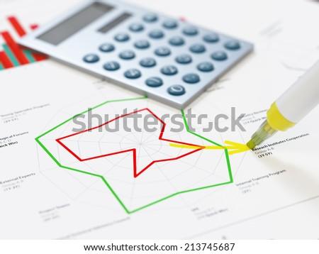 Key objectives - stock photo