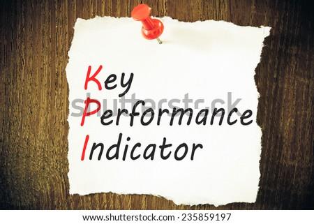 key performance indicator, KPI - stock photo