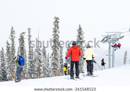 Keystone Ski Season Ski Resort at The End Keystone