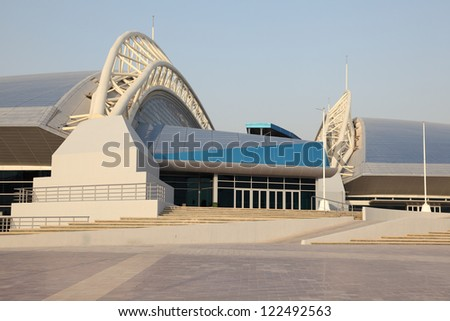 Khalifa International Stadium in Doha, Qatar - stock photo