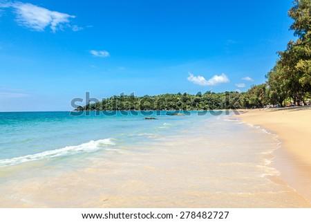 Khao Lak beach - stock photo
