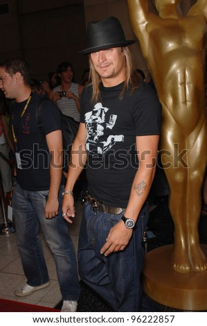 KID ROCK at the 2005 World Music Awards at the Kodak Theatre, Hollywood, CA. August 31, 2005  Los Angeles, CA.  2005 Paul Smith / Featureflash - stock photo