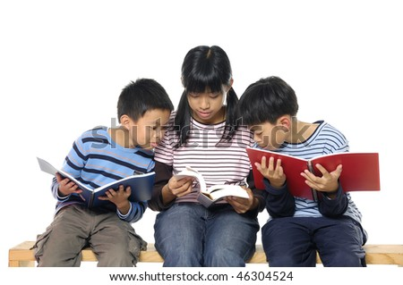 Kids learning - stock photo