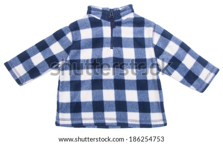 kids sweater isolated on the background. - stock photo