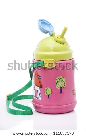 Kids Water Bottle - stock photo