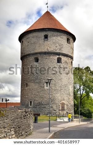 Kiek in de Kok tower. Old city, Tallinn, Estonia. - stock photo