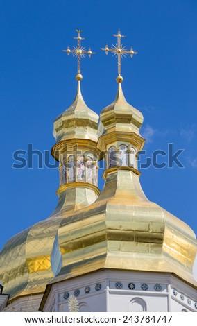 Kiev Pechersk Lavra or Kyiv Pechersk Lavra   - stock photo