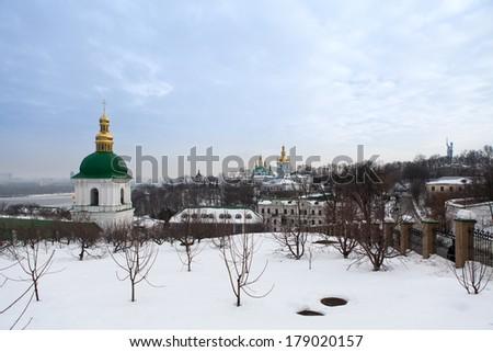 Kiev Pechersk Lavra. Orthodox Christian monastery. Kiev. Ukraine. - stock photo