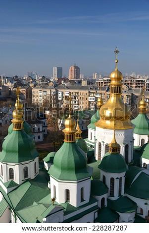 Kiev/Saint Sophia's Cathedral - stock photo