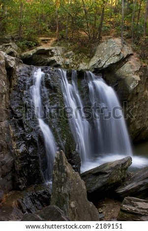 Kilgore Falls, Maryland - stock photo