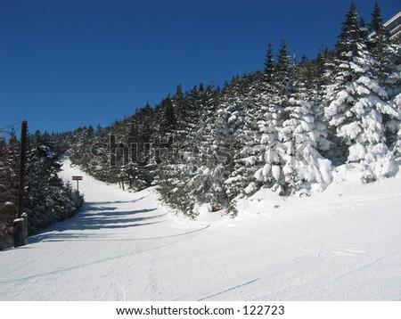 Killington mountain, Vermont. - stock photo