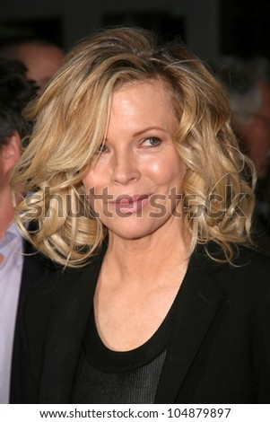 Kim Basinger  at the Los Angeles Premiere of 'The Informers'. Arclight Theater, Hollywood, CA. 04-16-09 - stock photo