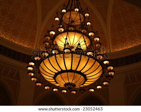 king lamp style - stock photo