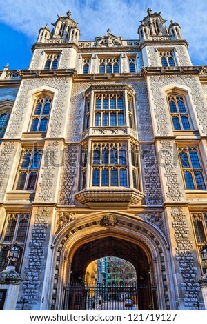 King's College London Library - stock photo