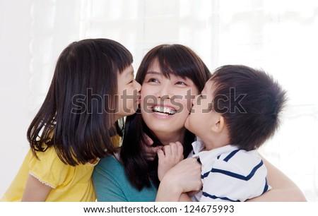 kiss - stock photo