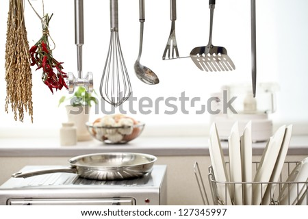kitchen, - stock photo