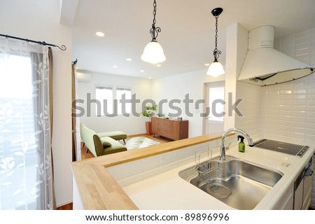 Kitchen-4-3 - stock photo