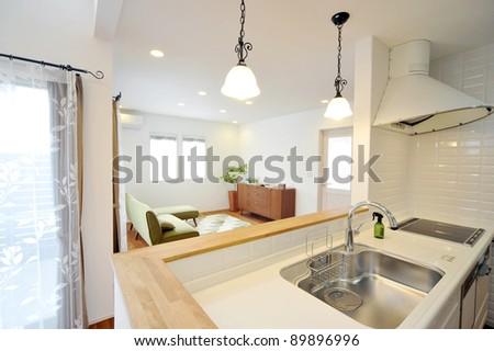Kitchen-4-3 - stock photo