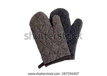 Kitchen gloves  - stock photo