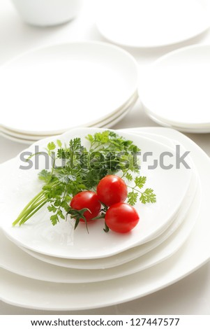 Kitchen image - stock photo