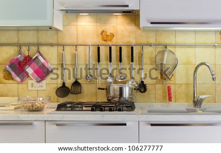 Kitchen Life - stock photo