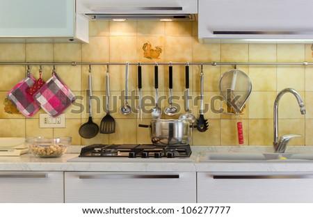 Kitchen Life - stock photo
