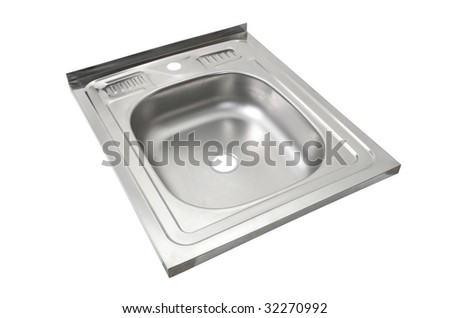 Kitchen sink file - includes clipping path - stock photo
