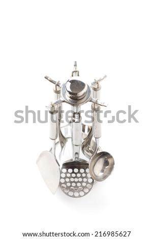 Kitchen utensils set - stock photo