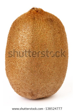 Kiwi Isolated On White Background - stock photo