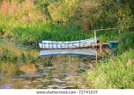 Kleines Boot - stock photo