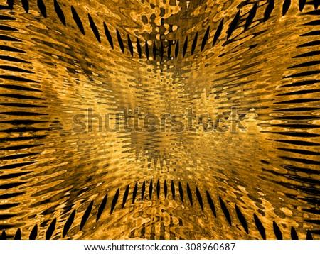 Klimt-style background - stock photo
