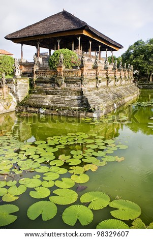 Klungkung Palace, Bali, Indonesia - stock photo