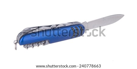 Knife. Army Knife. Army Knife on the background. - stock photo