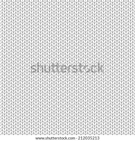 Knit texture, seamless pattern - stock photo