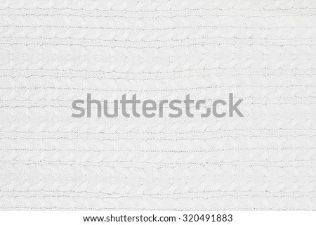 Knit white sweater texture background.  - stock photo