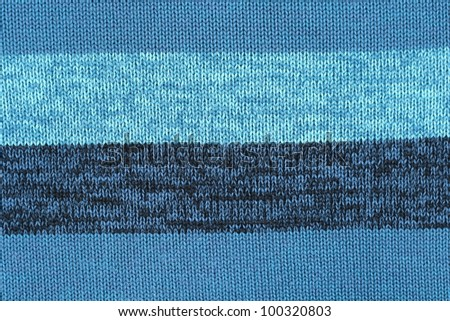Knit woolen texture. - stock photo