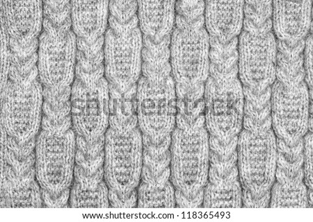 knitted fabric texture - stock photo