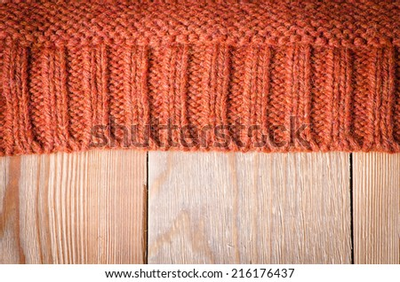 knitted pattern - stock photo