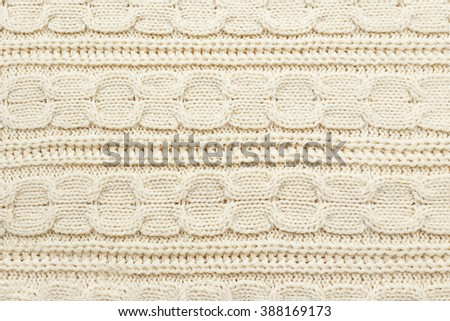 Knitted texture, abstract background - stock photo