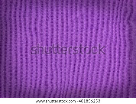 knitted woolen fabric purple color for the background. wool woven texture. - stock photo