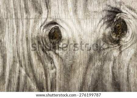 Knotted Wood Texture Background - stock photo