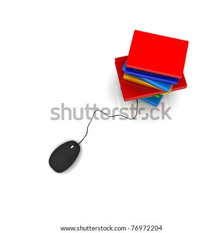 Knowledge Database - stock photo