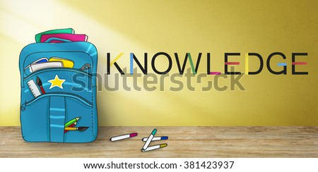 Knowledge WIsdom Intelligence Insight Understanding Concept - stock photo
