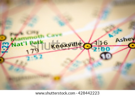 Knoxville. USA - stock photo