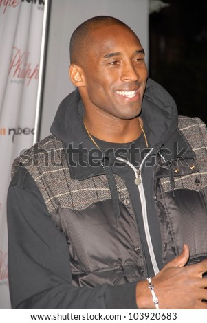Kobe Bryant spotted on the Street. Melrose Blvd, West Hollywood, CA. 10-12-09 - stock photo