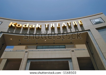 Kodak Theatre in Los Angeles, California, where the Oscar's night takes place every year - stock photo